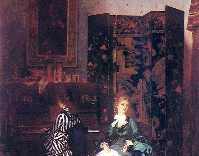 Chopin Folding Screen