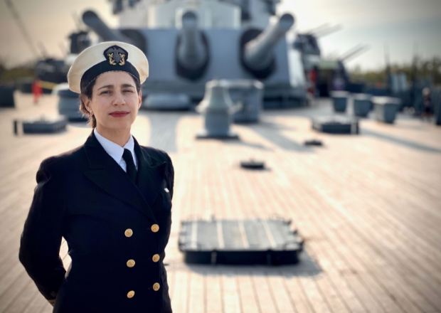 Navy Nurse Corps Service Dress B Blue Uniform