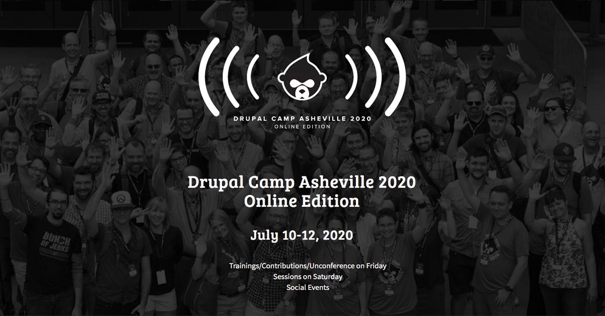 Drupal Camp Asheville 2020