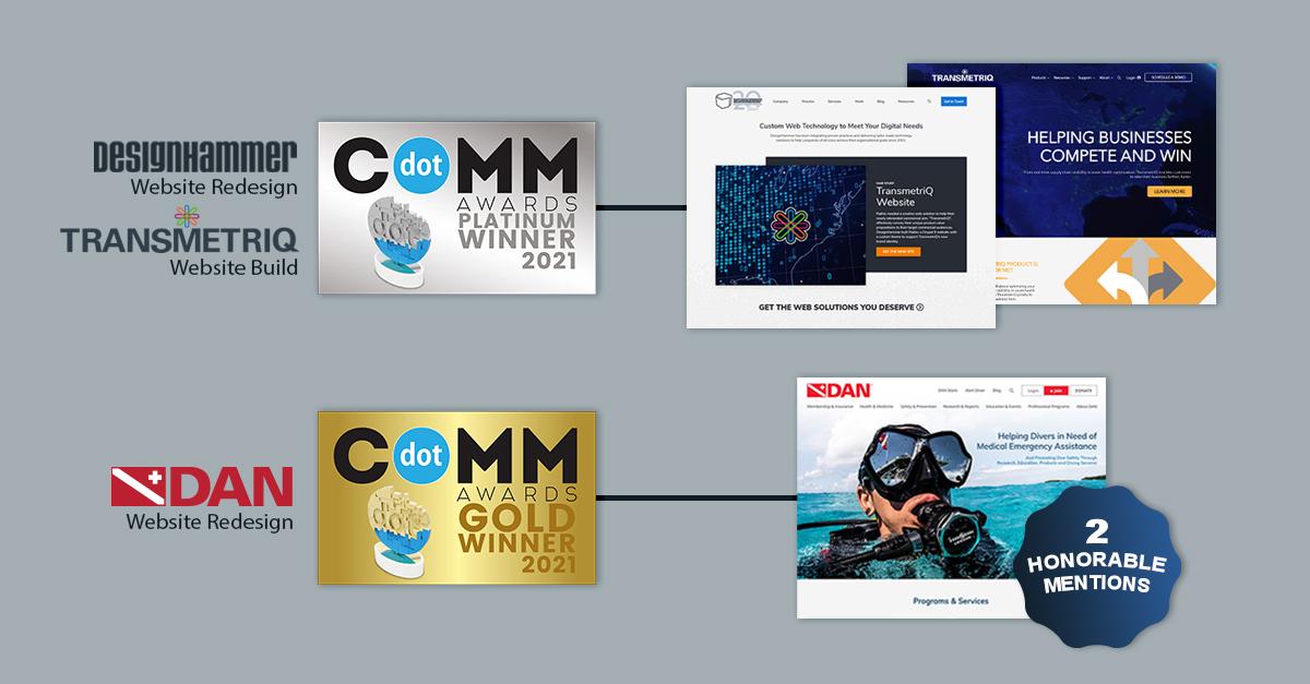 2021 dotComm awards