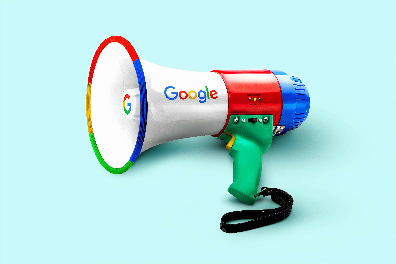 Google Megaphone Image